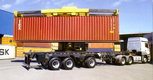 caminhão-conteiner